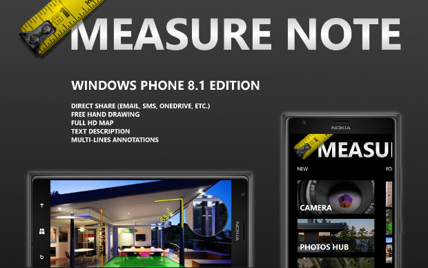 Measure Note Windows Phone 8.1 edition